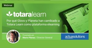 Webinar Actua Solutions