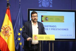 Secretario de Estado de Empleo Joaquín Pérez Rey