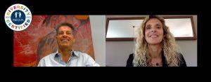Eva VilaMassanas, Co-Fundadora de WeEQUAL, y Fabrizio Selva, CEO de Sotto Tempo