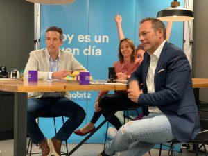 Roel Koppens, Natalia Muro y Roberto Fernández