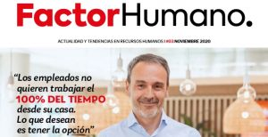 Portada Número 3 Revista Factor Humano