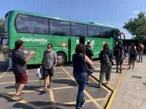 BusUp Recurso Autobús mascarilla
