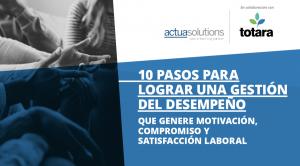E-book Actua Solutions Gestión del desempeño