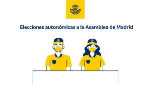 Correos Elecciones Madrid empleados