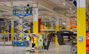 Amazon centro logístico almacén Murcia