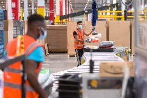 Amazon almacén robot recurso