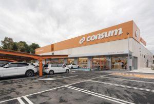 consum supermercado recurso tienda