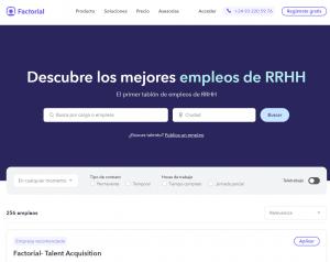 Factorial Portal Empleo