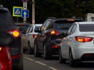 atasco tráfico coches recurso