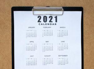 Calendario destacada