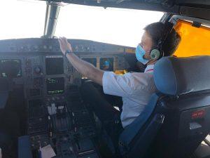 Iberia piloto recurso avión simulador