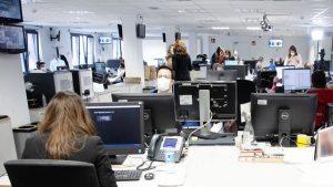 Mediaset empleados recurso oficinas sede
