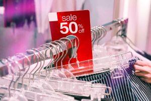 Rebajas tienda ropa recurso descuento