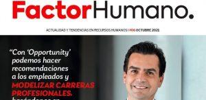 Portada Revista Factor Humano 6