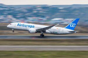 Air Europa avión recurso