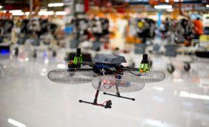 SEAT drones fábrica