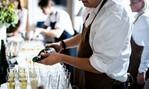 camarero restaurante recurso